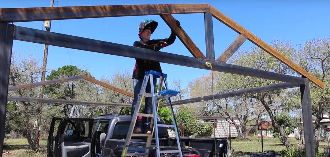 Building a Metal Carport