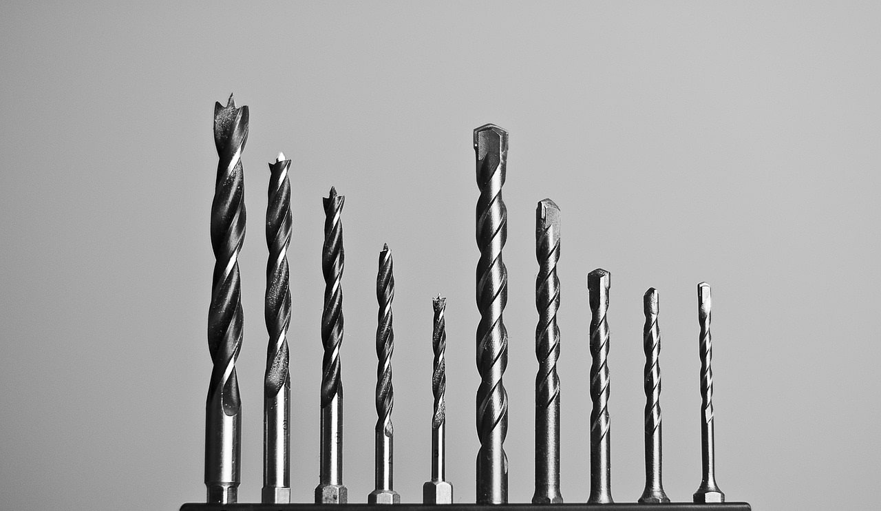 Types Of Drill Bits For Metal